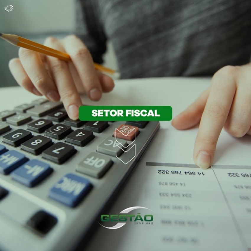 Principais rotinas do departamento fiscal
